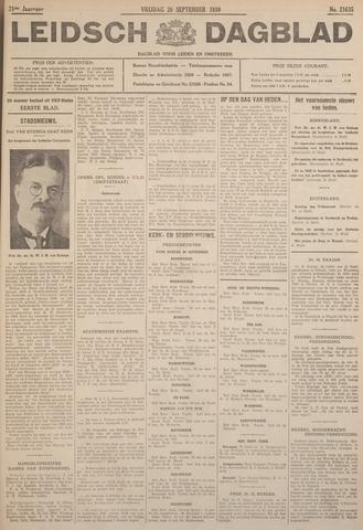 Leidsch Dagblad 1930-09-26