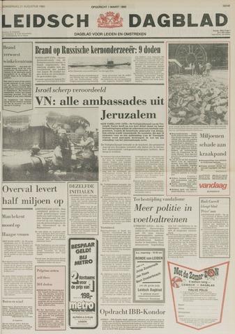 Leidsch Dagblad 1980-08-21