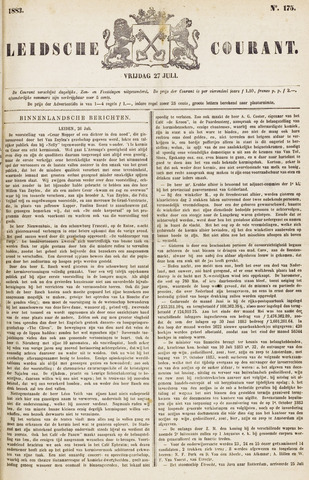 Leydse Courant 1883-07-27