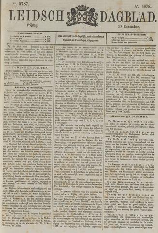 Leidsch Dagblad 1878-12-27