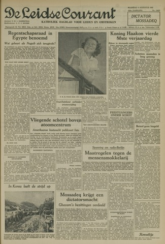 Leidse Courant 1952-08-04