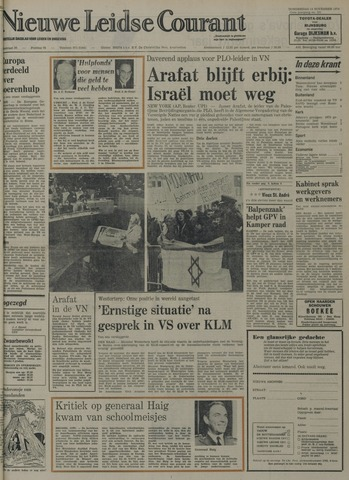 Nieuwe Leidsche Courant 1974-11-14