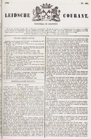 Leydse Courant 1876-08-23