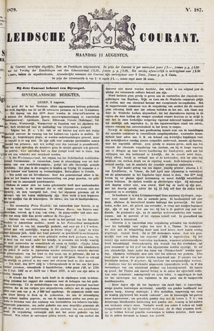 Leydse Courant 1879-08-11