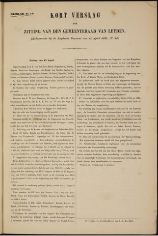 Handelingen van de Raad 1855-04-12