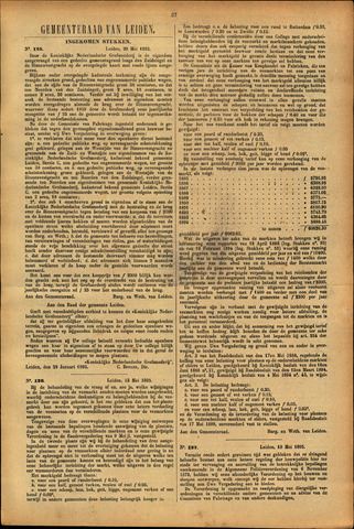 Handelingen van de Raad 1895-05-20
