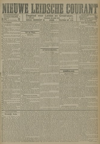 Nieuwe Leidsche Courant 1921-06-24