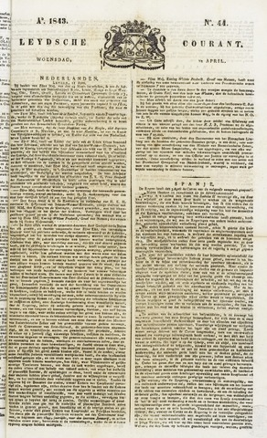 Leydse Courant 1843-04-12