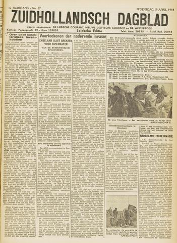 Zuidhollandsch Dagblad 1944-04-19