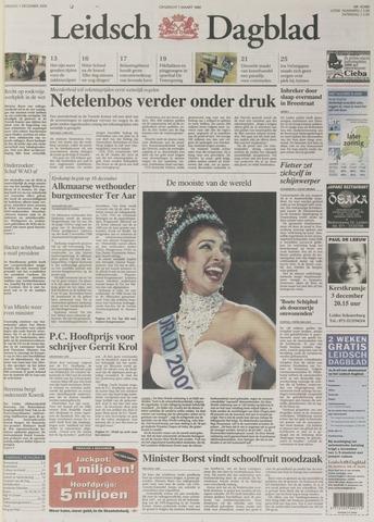 Leidsch Dagblad 2000-12-01