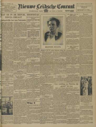 Nieuwe Leidsche Courant 1947-10-14