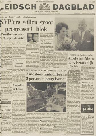 Leidsch Dagblad 1967-08-14