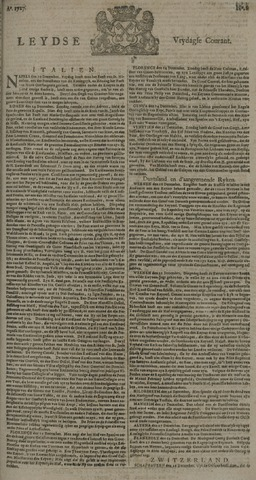 Leydse Courant 1727-01-03