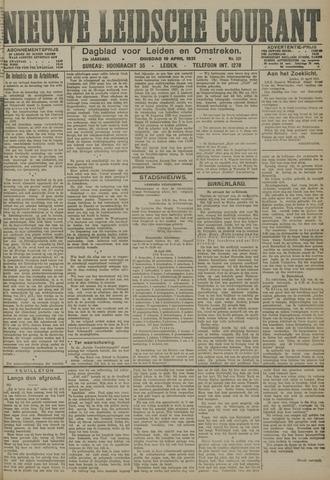 Nieuwe Leidsche Courant 1921-04-19