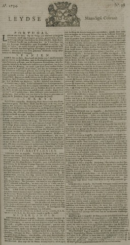 Leydse Courant 1734-08-16
