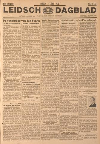 Leidsch Dagblad 1942-04-21