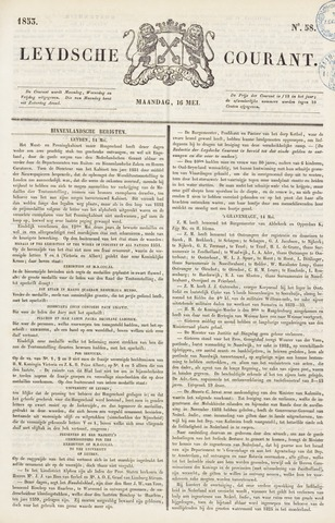 Leydse Courant 1853-05-16
