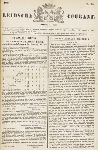 Leydse Courant 1883-07-31