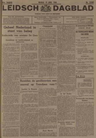 Leidsch Dagblad 1940-04-19
