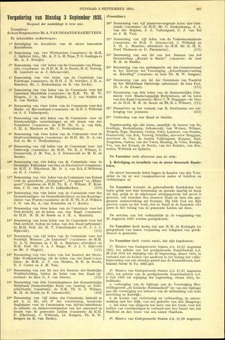 Handelingen van de Raad 1935-09-03