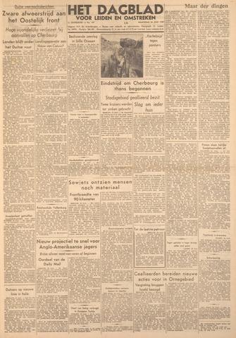 Dagblad voor Leiden en Omstreken 1944-06-26
