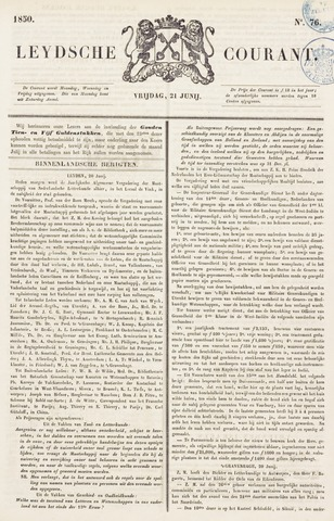 Leydse Courant 1850-06-21