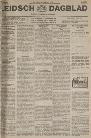 Leidsch Dagblad 1933-01-30