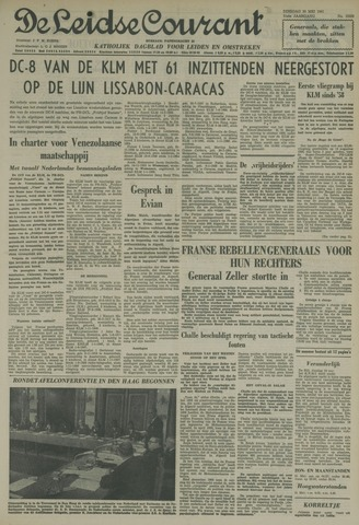 Leidse Courant 1961-05-30