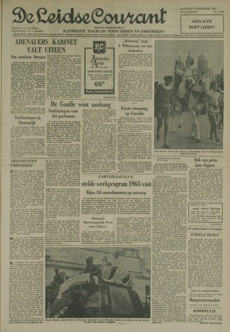 Leidse Courant 1962-11-19