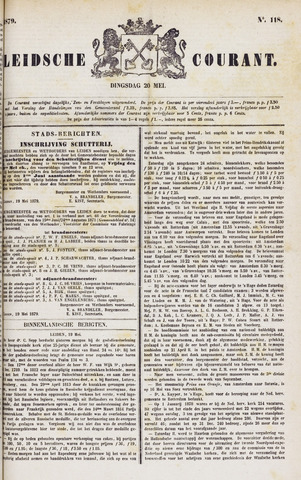 Leydse Courant 1879-05-20