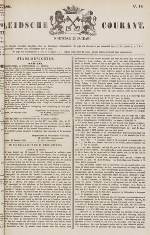 Leydse Courant 1884-01-23