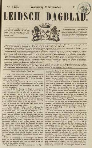 Leidsch Dagblad 1864-11-09