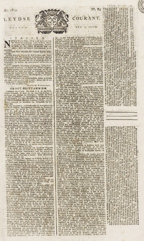 Leydse Courant 1814-07-15