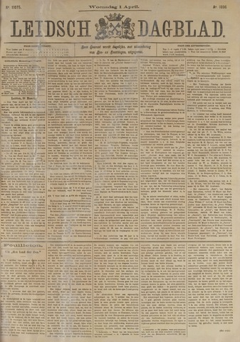 Leidsch Dagblad 1896-04-01