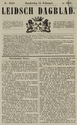 Leidsch Dagblad 1867-02-14