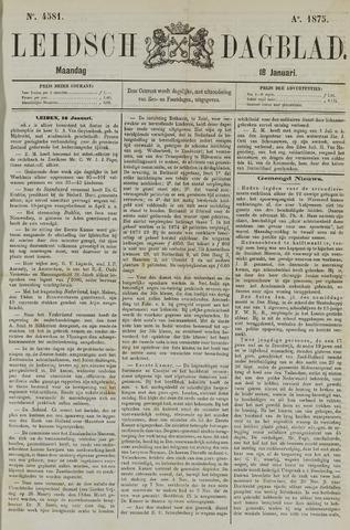 Leidsch Dagblad 1875-01-18