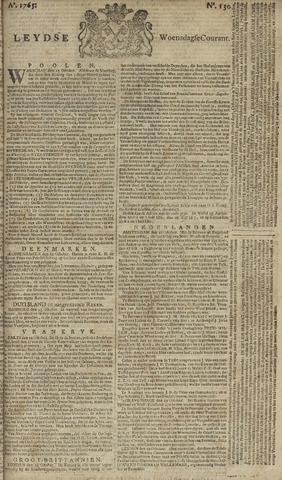 Leydse Courant 1765-10-30