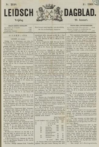 Leidsch Dagblad 1868-01-24