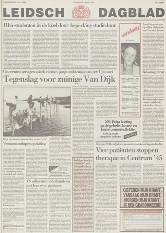 Leidsch Dagblad 1988-07-27