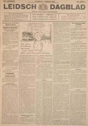 Leidsch Dagblad 1928-01-07
