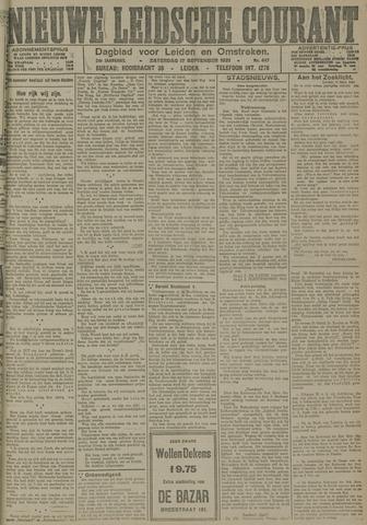 Nieuwe Leidsche Courant 1921-09-17