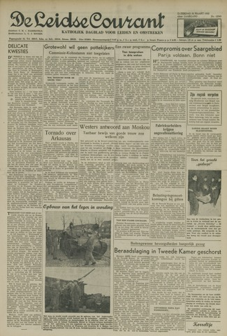 Leidse Courant 1952-03-22
