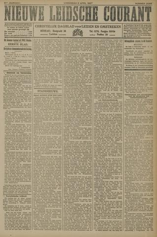 Nieuwe Leidsche Courant 1927-04-06