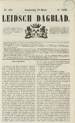 Leidsch Dagblad 1863-03-19