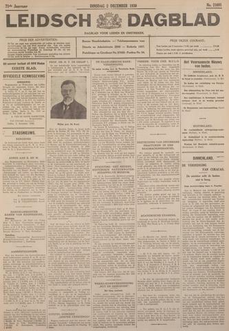 Leidsch Dagblad 1930-12-02