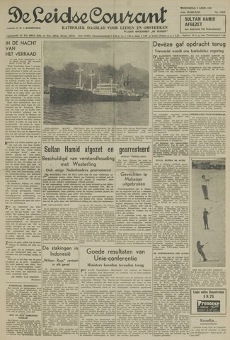 Leidse Courant 1950-04-05