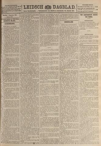 Leidsch Dagblad 1921-08-01