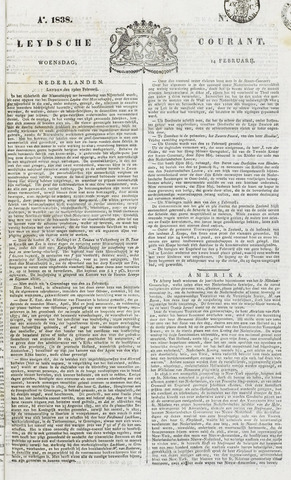 Leydse Courant 1838-02-14