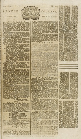 Leydse Courant 1819-09-20