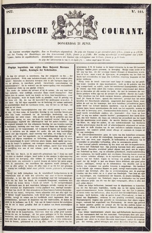 Leydse Courant 1877-06-21